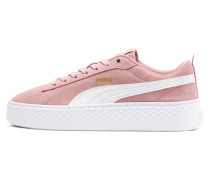 Sneaker 'Smash' altrosa / weiß