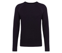 Pullover 'struc cnk' navy
