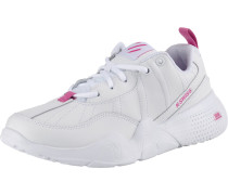 Sneakers Low pink / weiß