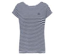Shirt dunkelblau / weiß