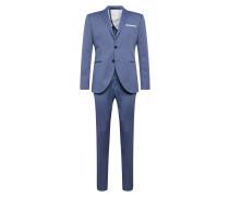 Anzug 'slim-Mylosaint' blau