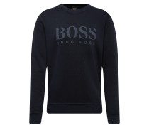 Sweatshirt 'Weave 10212390 01' dunkelblau