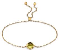Armband gold / hellgrün
