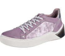 Sneakers lila / silber