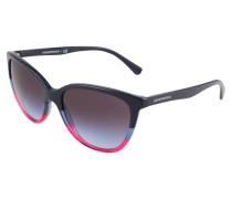 Sonnenbrille blau / violettblau