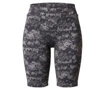 Shorts 'Camo' grau / schwarz