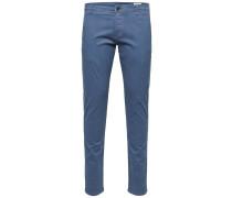 Chino Slim Fit blau
