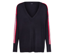 Pullover 'julie' rot / schwarz