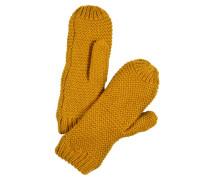 Fäustlinge 'pcdace Wool Mittens' goldgelb