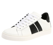 Sneaker 'Race' schwarz / weiß