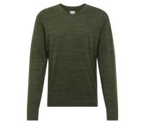 Pullover 'v-Core Cotton Vee' grün