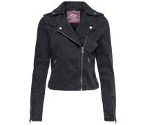 Jacke black denim