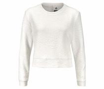 Sweatshirt naturweiß