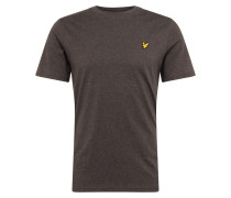 T-Shirt mit Marken-Badge dunkelgrau