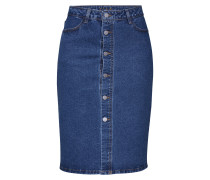 Rock 'viarta HW Denim Skirt' blue denim