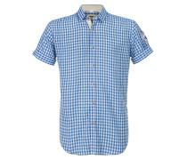 Hemd 'Connor' blau / weiß