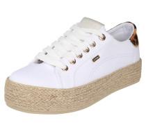 Sneaker 'Chevelijn' weiß / beige