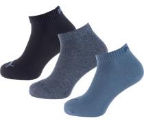 Socken blaumeliert / marine / blau
