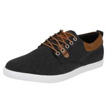 Sneaker Low braun / schwarz
