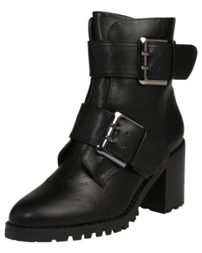 Stiefelette 'Bootie Block Heel' schwarz