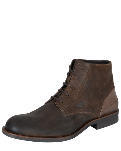 Schnürboots 'Check 12' taupe