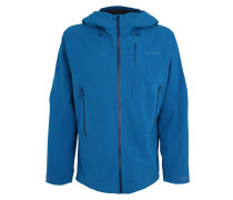 Outdoorjacke 'Galvanized' blau