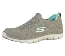 Sneaker aqua / rauchgrau