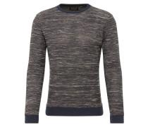 Pullover navy / braun