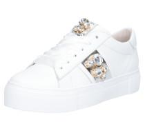 Sneaker 'Big' silber / weiß