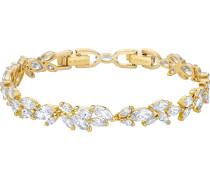 Armband 'Louison' gold / weiß