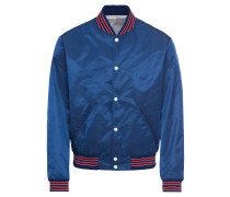 Jacke 'blouse Jacket With Three-Colour Ribbing'