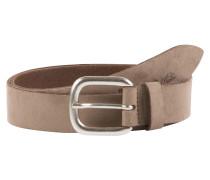 Ledergürtel 'suede leather belt with alcantara soft touch'