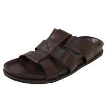 Lederpantolette mit Fußbett