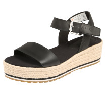 Sandale 'Santorini Sun' creme / schwarz