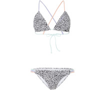 Bikini 'capri Lucia' schwarz / weiß