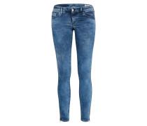 Jeans 'Skinzee-Low-Zip' blau