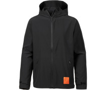 Windbreaker orange / schwarz