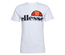 T-Shirt 'Prado' dunkelblau / weiß