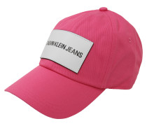 Cap mit Logo-Patch rosa