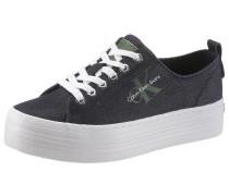 Sneaker navy / grün / weiß