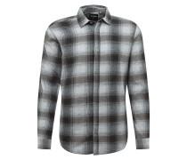 Hemd 'flannel' grau / dunkelgrau