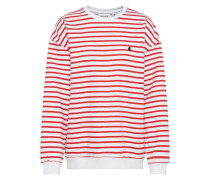 Sweater 'Robie' blau / rot / weiß