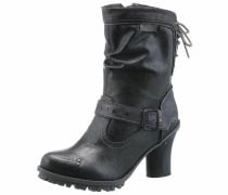 Shoes Schnürstiefel dunkelblau / grau