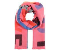 Schal 'Love' mischfarben / pink
