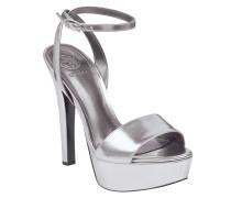 Sandalette 'empress' silber