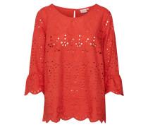 Bluse 'Fleur blouse' orangerot