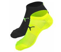 Sneakersocken gelb / schwarz