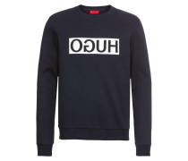 Sweatshirt mit Icon-Print 'Dicago' navy