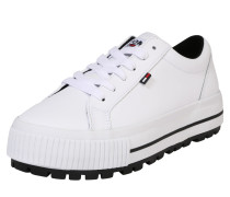 Plateausneaker 'paige 1A' weiß