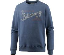 'die Cut' Sweatshirt navy
